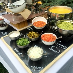 Nacho Station - Station Parties, Graduation, Wedding, Catering Menus by J.Baldwin's - Macomb County's Best Caterer - Clinton Township, Detroit, Michigan, Oakland County, MI