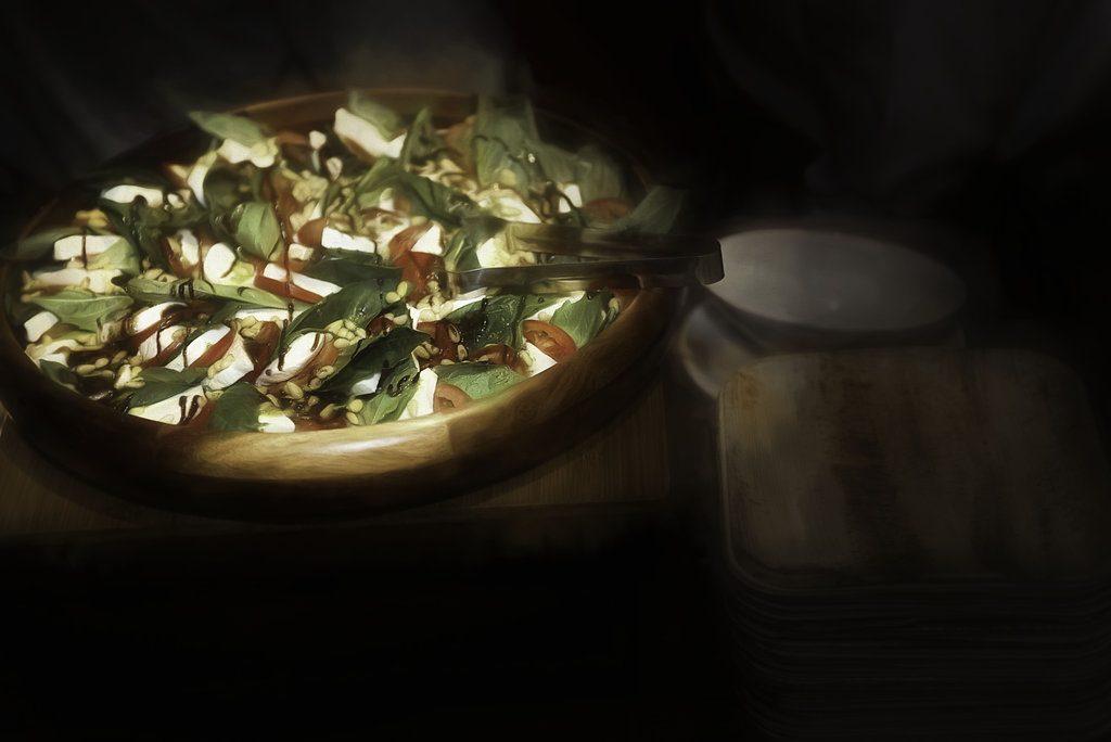 Onsite Catering Caprese Salad