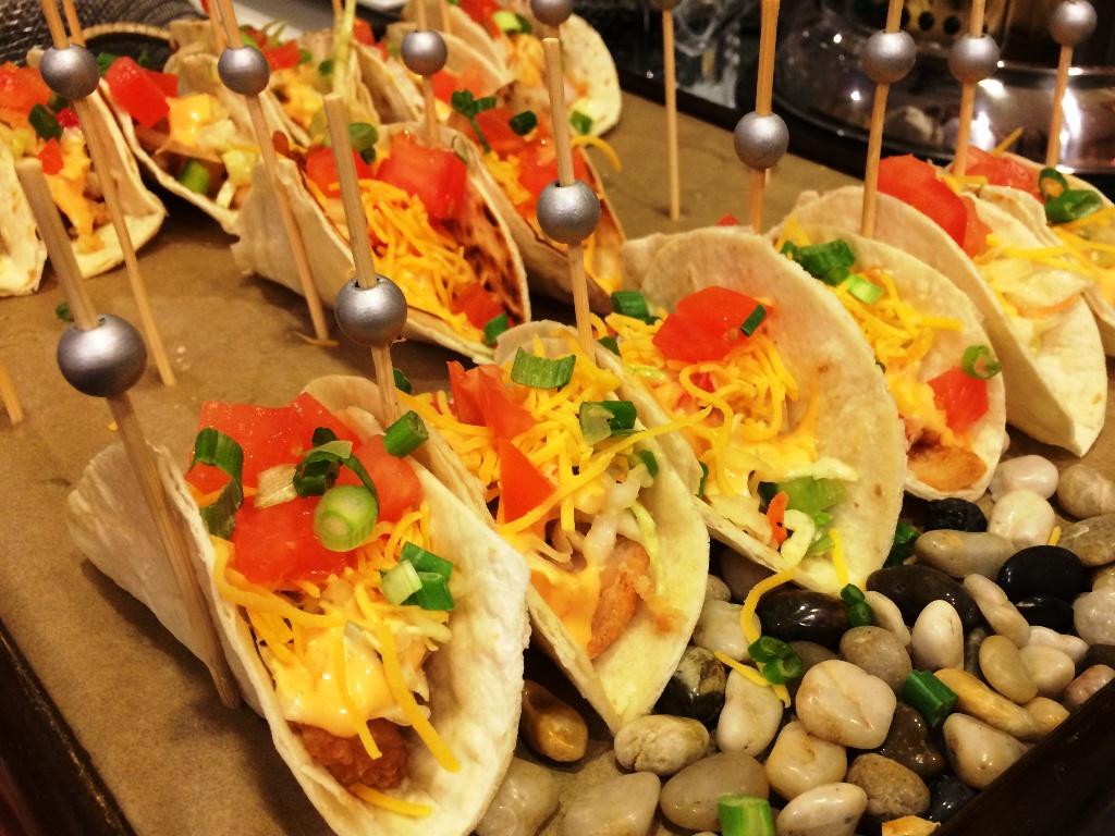 Rehearsal Dinner - Boom Boom Shrimp Tacos