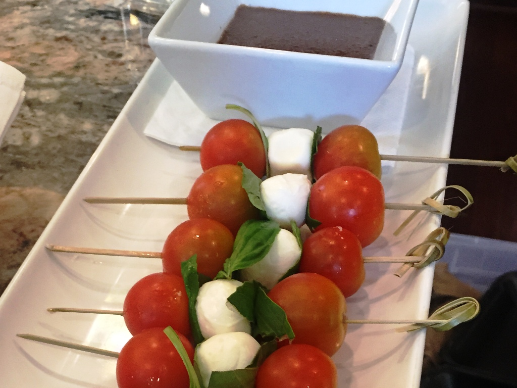 Engagement Party - Caprese Skewers