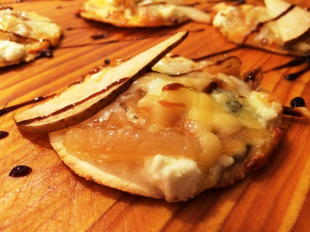 50th Birthday Bash - Pear Quatro Pizza Minis