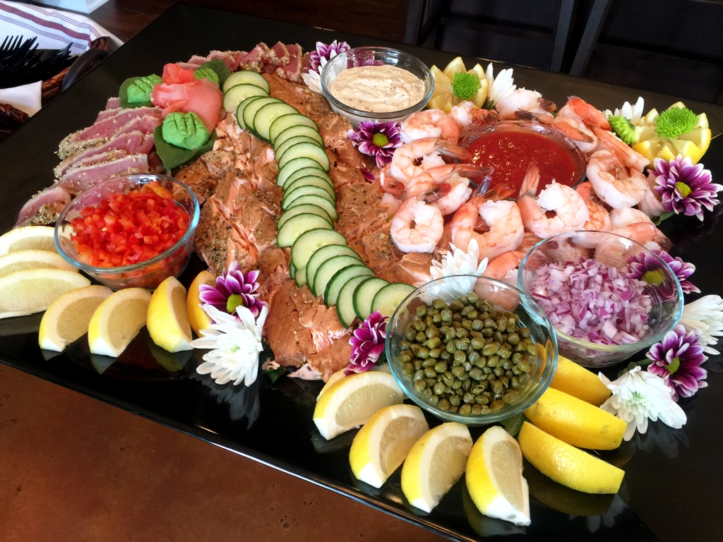 Engagement Party - Elegant Seafood Platter